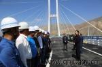 黄南藏族自治州州委书记王振昌一行赴牙同高速公路看望慰问建设者 - 交通运输厅