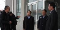 青海高院督查组到黄南中院督查维稳安保工作 - 法院