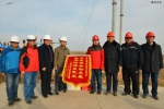 北干渠二期工程35kv专用输电线路架设完工(图) - 水利厅