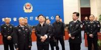 滕佳材在青海省公安厅调研时强调 明确职责定位 加强协作配合 坚决打赢扫黑除恶专项斗争这场硬仗 - 公安厅