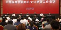 支持深度贫困地区文化建设 工作会议在青海召开 - 文化厅