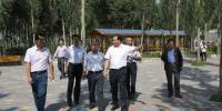 省民宗委主任开哇陪同国家民委副主任石玉钢在大通县调研 - 民族宗教局