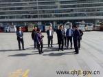 省安监局陆宁安局长督导调研节前运输安全工作 - 交通运输厅
