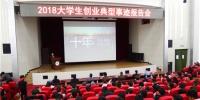 青海省举行2018大学生创业典型事迹报告会 - Qhnews.Com