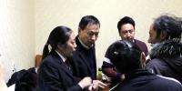 达日县法院在上红科乡开展控辍保学活动 - 法院