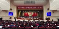 西宁市第十六届人民代表大会第五次会议召开 - Qhnews.Com