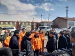 匡湧副省长看望慰问花石峡公路段抗灾保通人员 - 交通运输厅