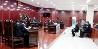 互助县法院开庭审理李某等4人涉恶案并当庭宣判 - 法院