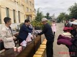 海东市红十字会开展庆国庆迎中秋献爱心活动 - 红十字会