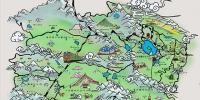 青海航食手绘地图正式发布 - Qhnews.Com