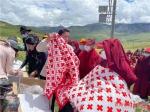 省红十字会、省民宗委、省藏医院共同举办健康宣传教育进寺院活动 - 红十字会