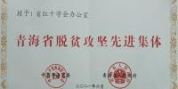 青海省脱贫攻坚先进集体 - 红十字会